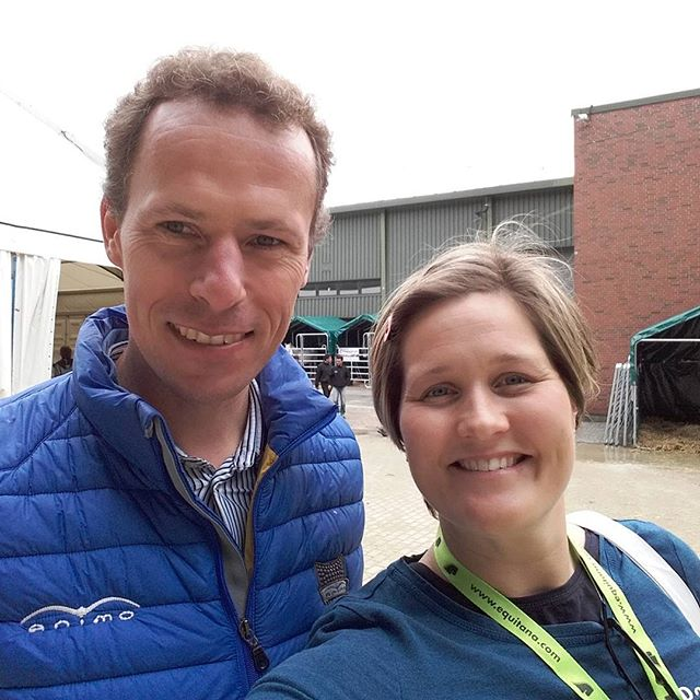 Behind the scenes with the Jaxson and Berry podcast! Aletia Reilingh with Olympic Show Jumper Christian Ahlman.  #Christianahlman #Showjumping #equitana2017