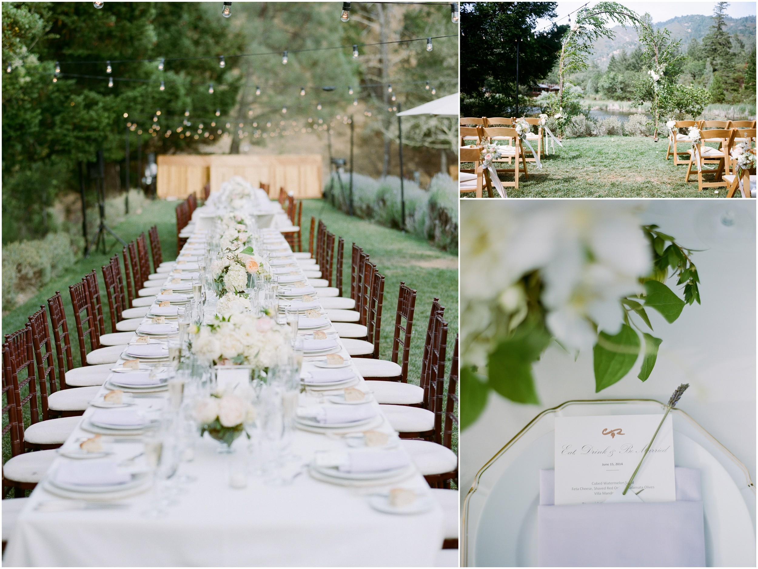 L'Relyea Events - Event Planning & Design - Calistoga Ranch, CA   Wedding venues in Wine Country