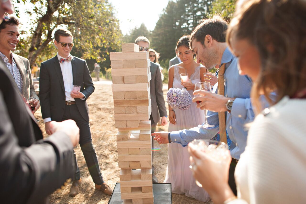 Giant Jenga Game $25