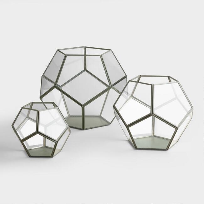 Geometric Terrariums/Vessels $8