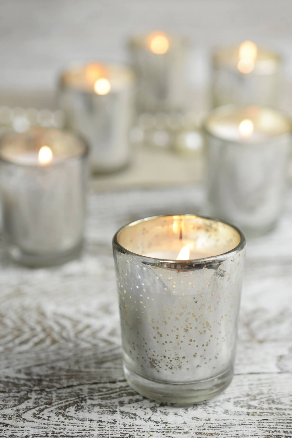 Mercury Votive Candles $5