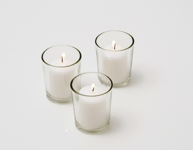 Pre-filled Votive Candles $5