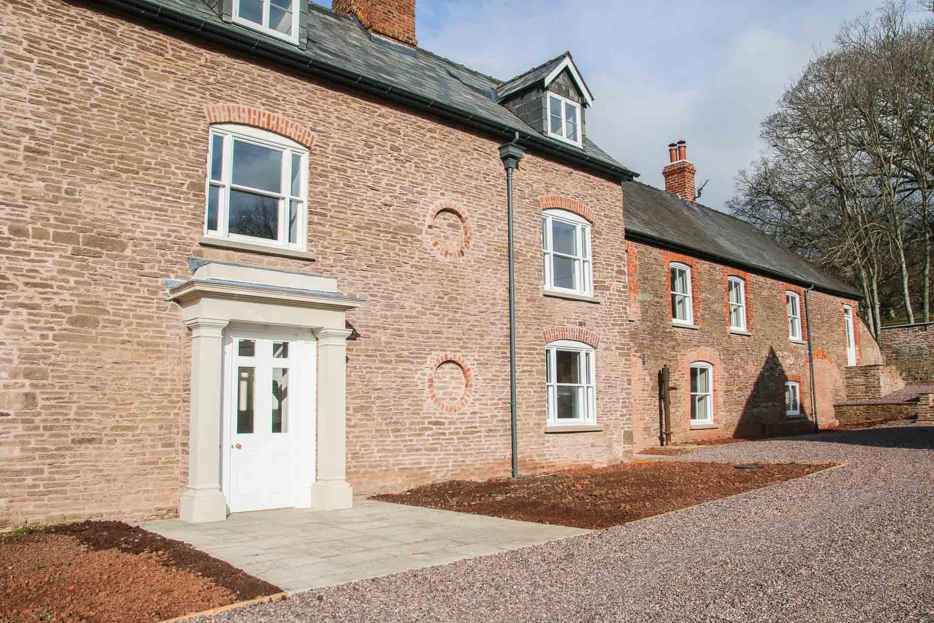 JDW Builing Conservation Restoration work Farmhouse Extrenal a105.jpg