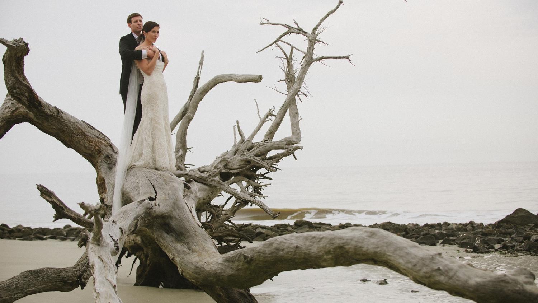 Jekyll Island Wedding Photographer - Driftwood Beach