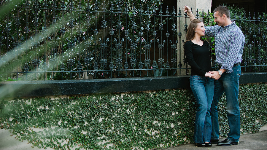 Savannah Engagement Photographer - Forsyth Park