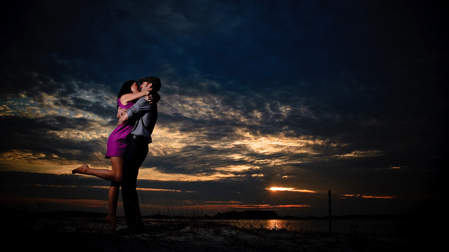 Tybee Island Engagement Photographer - Sunset