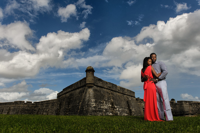 St. Augustine Engagement Photographer | Concept-A Photography | Erica and Jevon 05