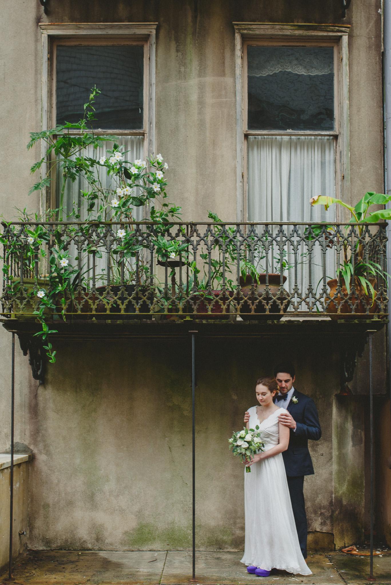 Savannah - Bride and Groom elopement