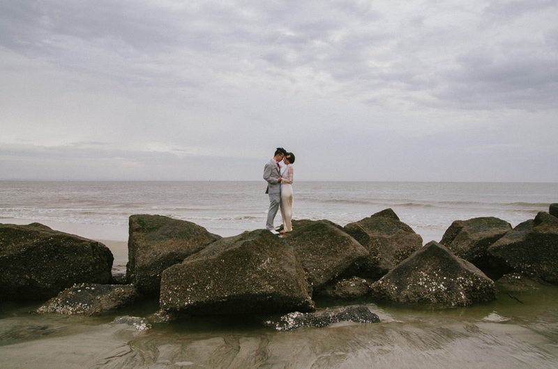 Jasmine and Lee | Tybee Island, GA Elopement