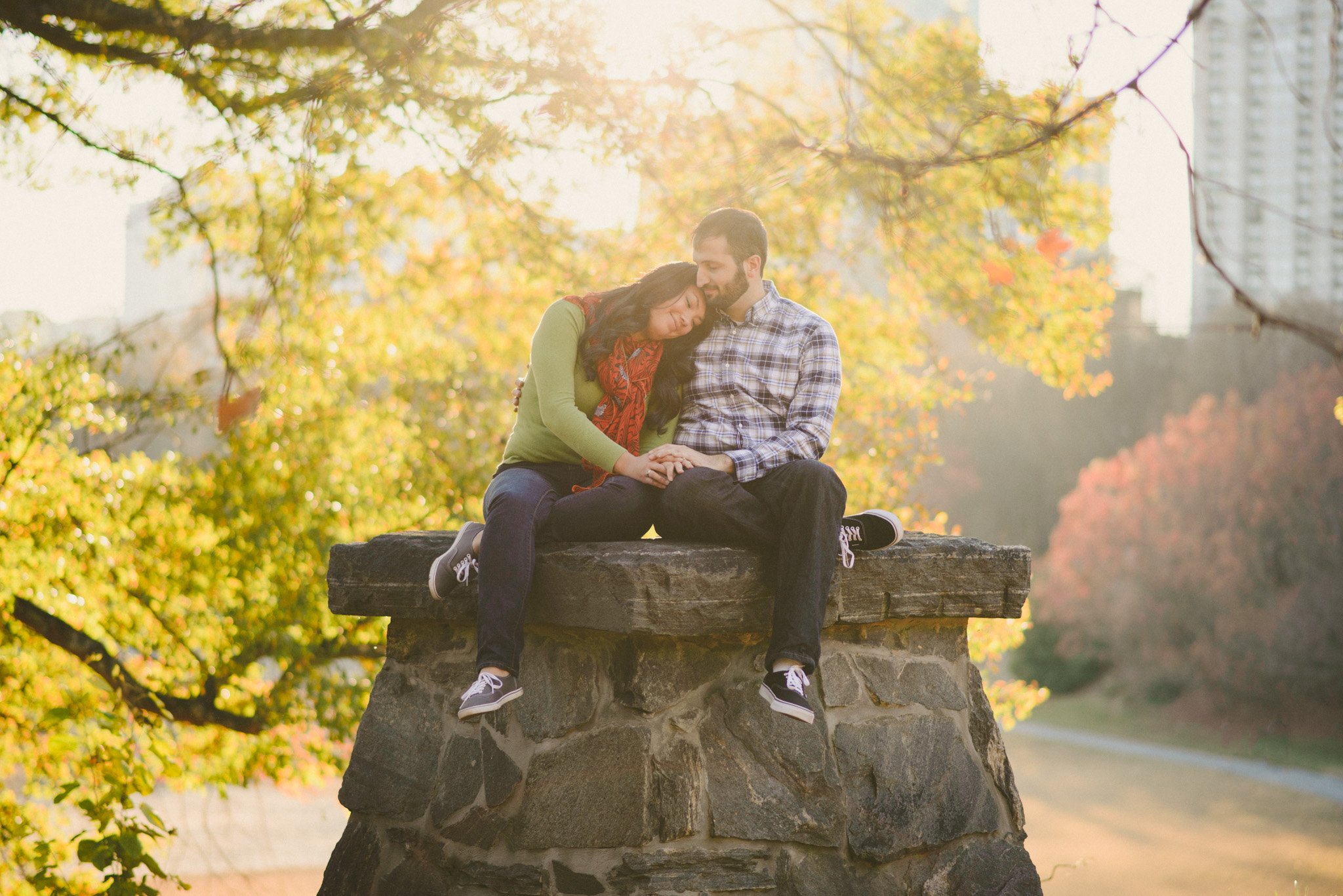 Piedmont Park Engagement | Concept-A Photography