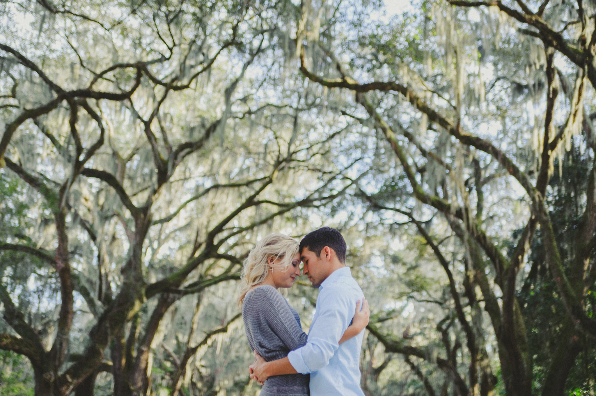 Wormsloe Plantation Engagement | Concept-A Photography