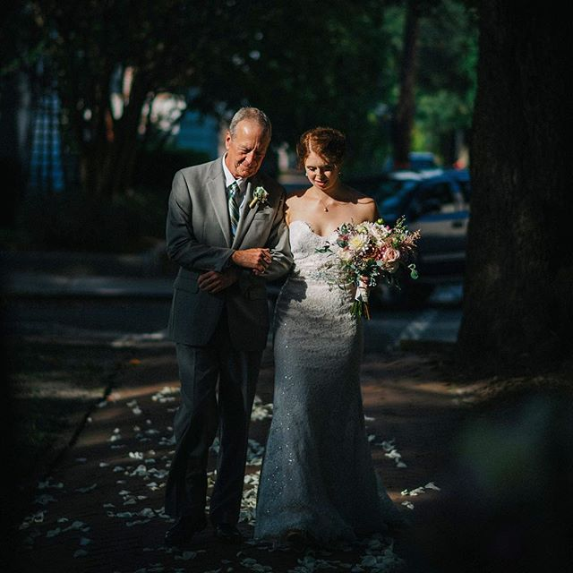 When that one ray of sunshine sneaks through the trees to illuminate your subjects perfectly... #loveandlight #savannah #moment #conceptaphoto #sunrays #fatherdaughter
