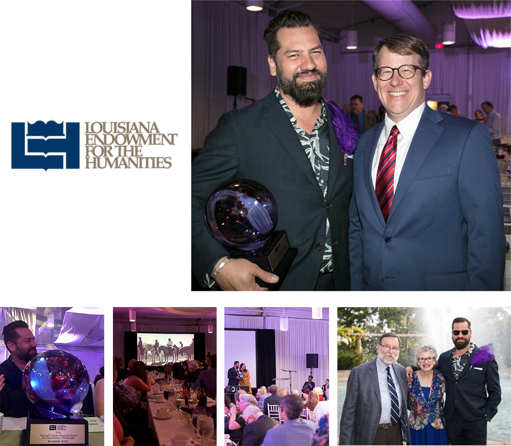 Louisiana Endowment for Humanities 2018 Award Recipients, Bright Lights Awards Dinner, City Park of New Orleans.