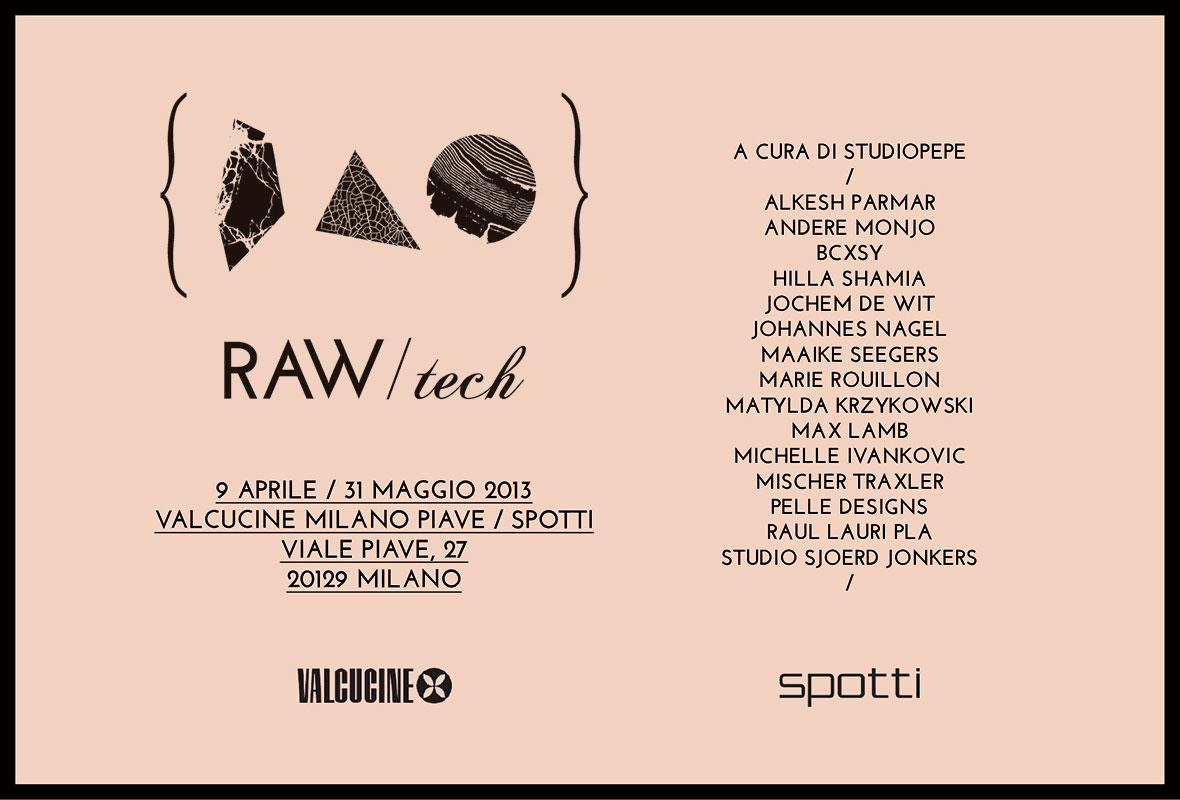 ©Studiopepe | Exhibitions | Valcucine | Raw / Tech