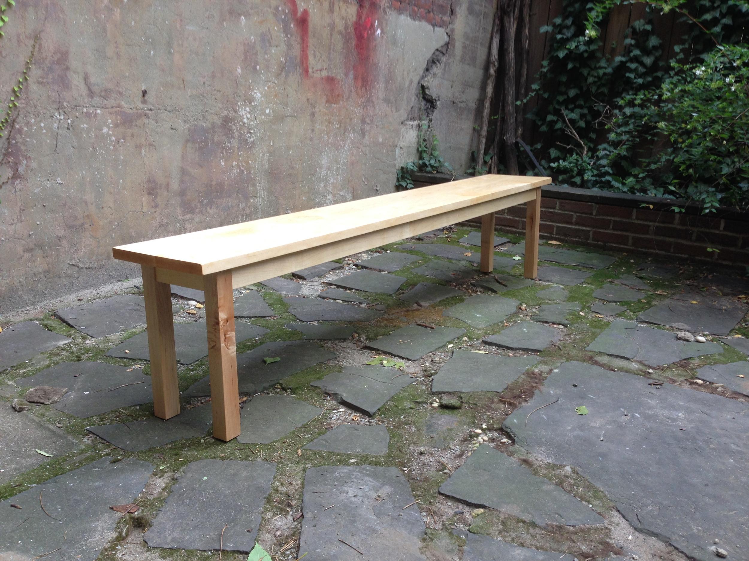 Maple bench