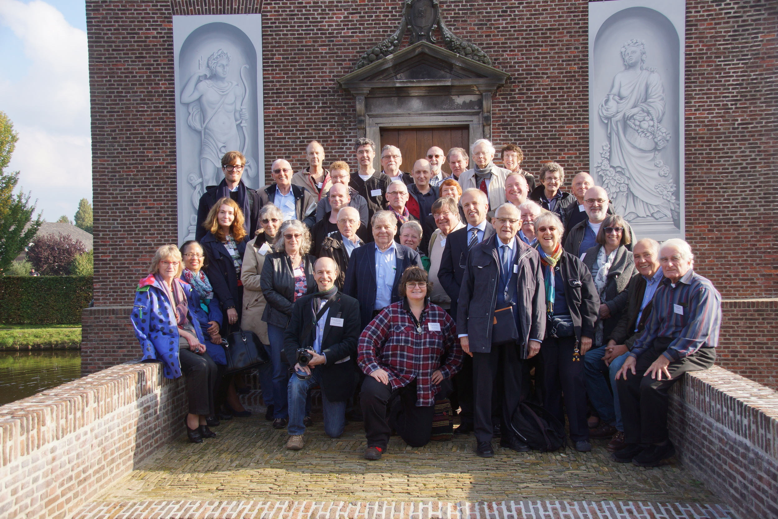Members of the SIS on the 2015 Dutch Study Tour – photograph by Carla Aangenendt