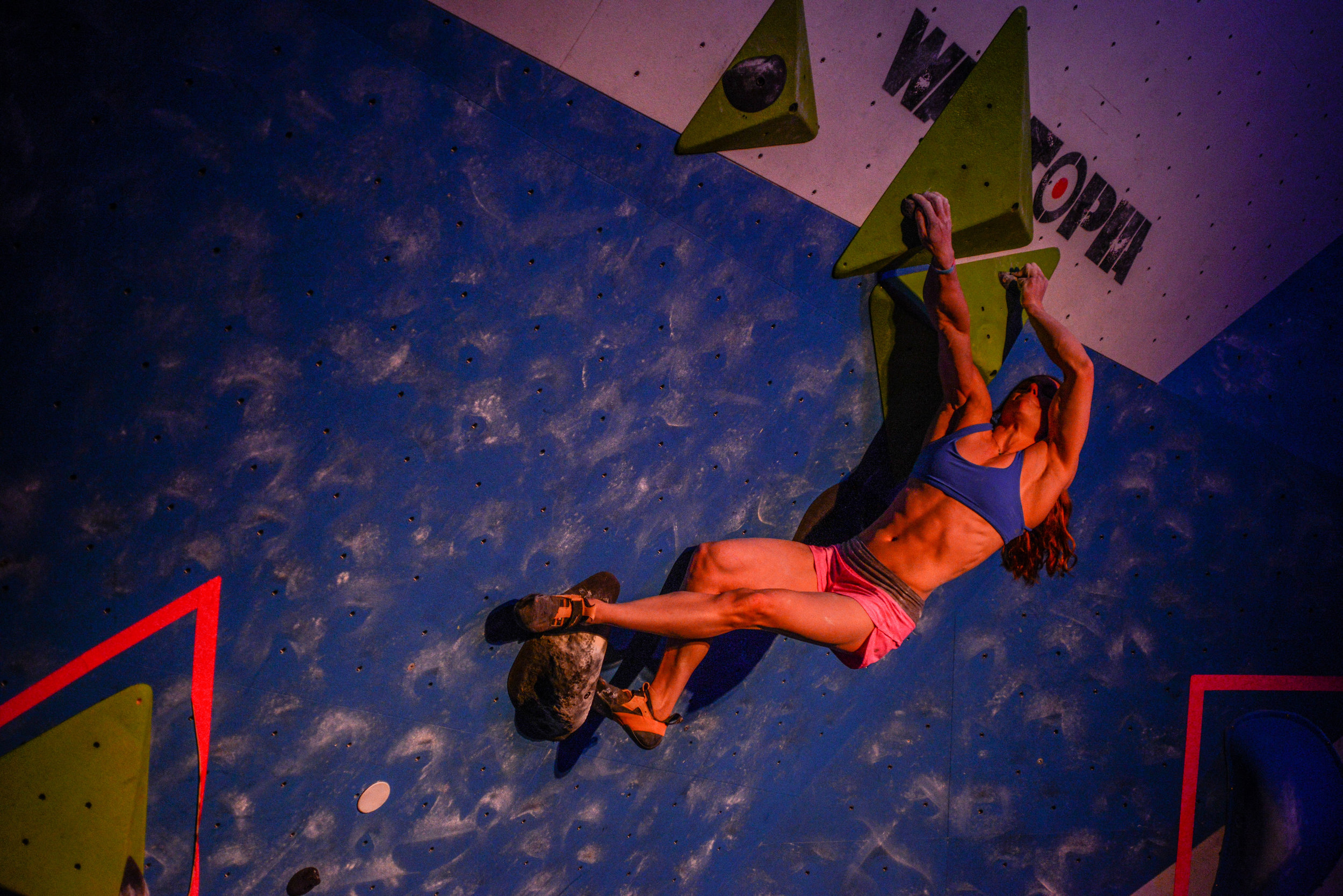 In one of the most memorable battles ever, two of the best climbers in the world, Alex Puccio and Ashima Shiraishi, went head to head in the finals round at TBS.