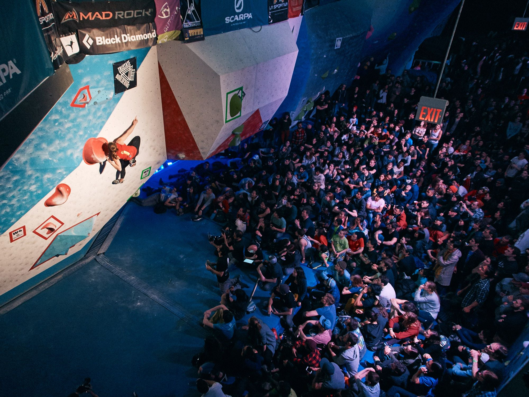 Our very own comp series, the Tristate Bouldering Series, which includes Feats of Strength,finished off its second season with wins from Alex Puccio and Charlie Schreiber.Photo: Joshua Pestka