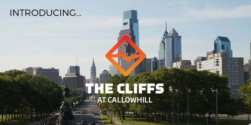 Next up, The Cliffs at Callowhill in Philadelphia! Opening in 2018.