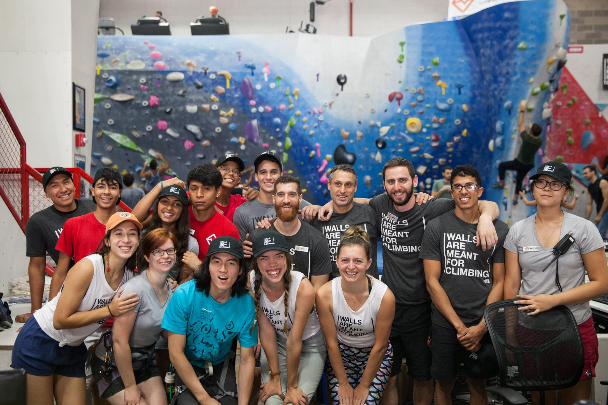 We partnered with  The North Face  to host Walls are Meant for Climbing, an international event with pro-athlete clinics, panels, and a 1 million dollar donation from TNF to the  Trust for Public Land . Photo:  Sasha Turrentine