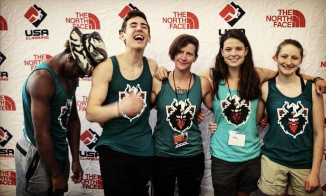 Some of our Vikings at Nationals // Photo via  Instagram