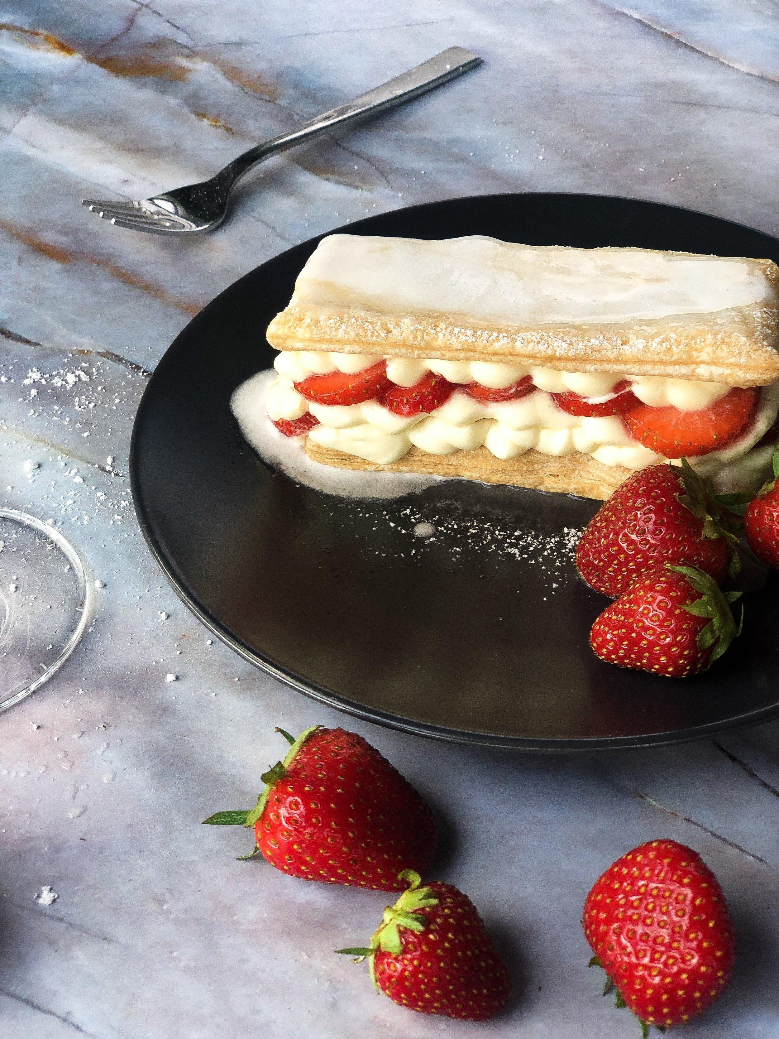 foodmag.ch - Erdbeer Mill'Feuille