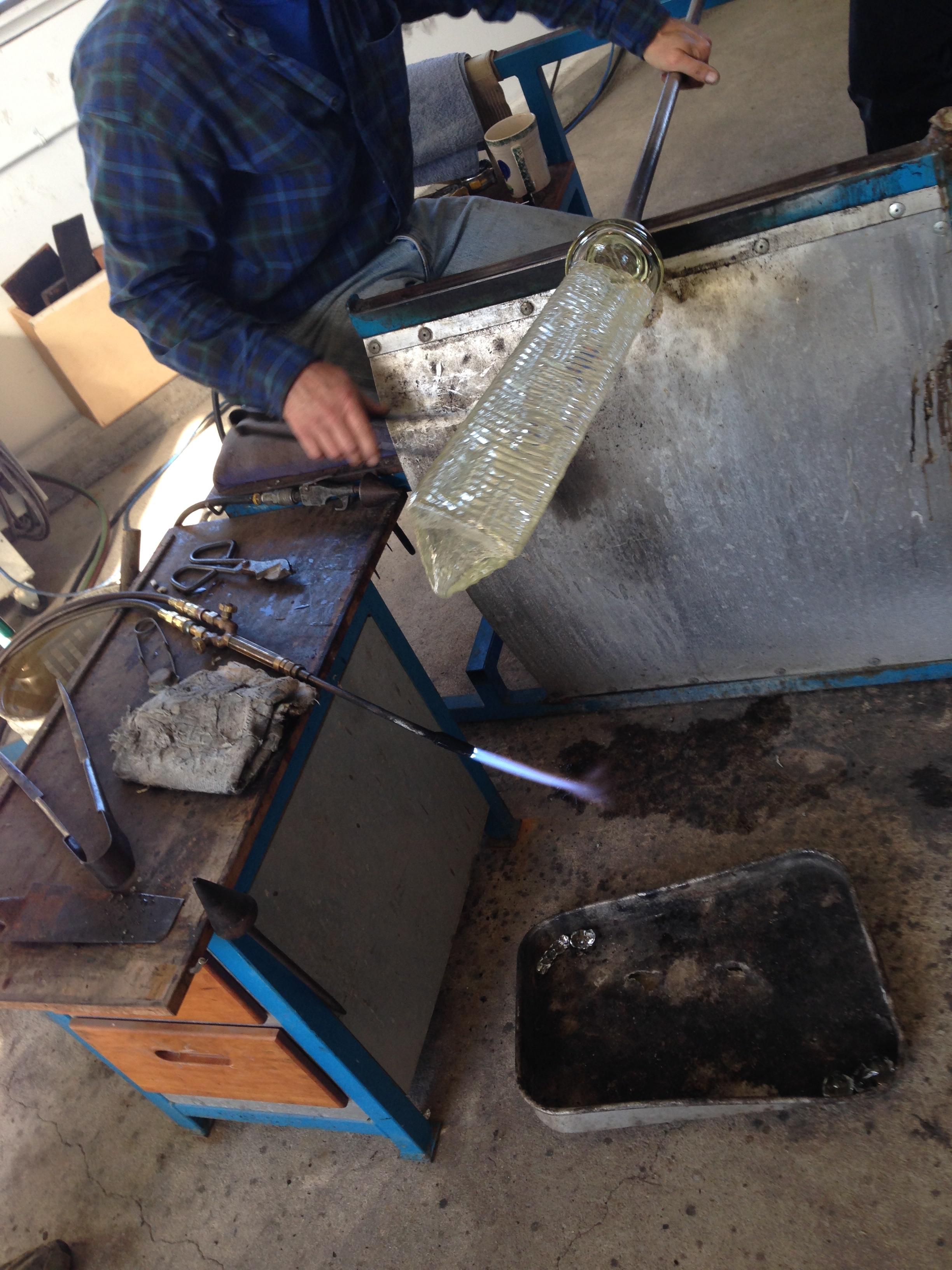 sei studio glass chandelier neiman marcus process