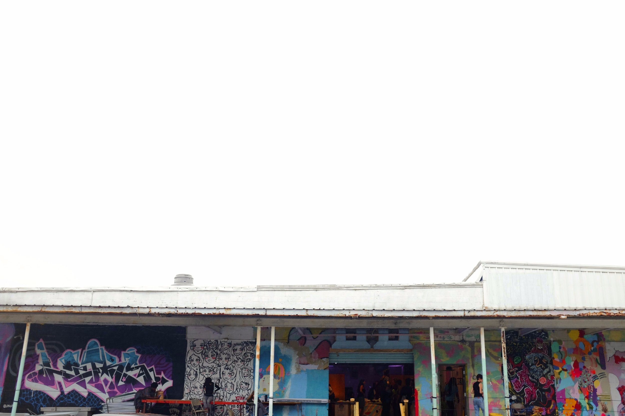The Bakery, a creative arts complex in Oakland City, sits at  825 Warner Street in southwest Atlanta.