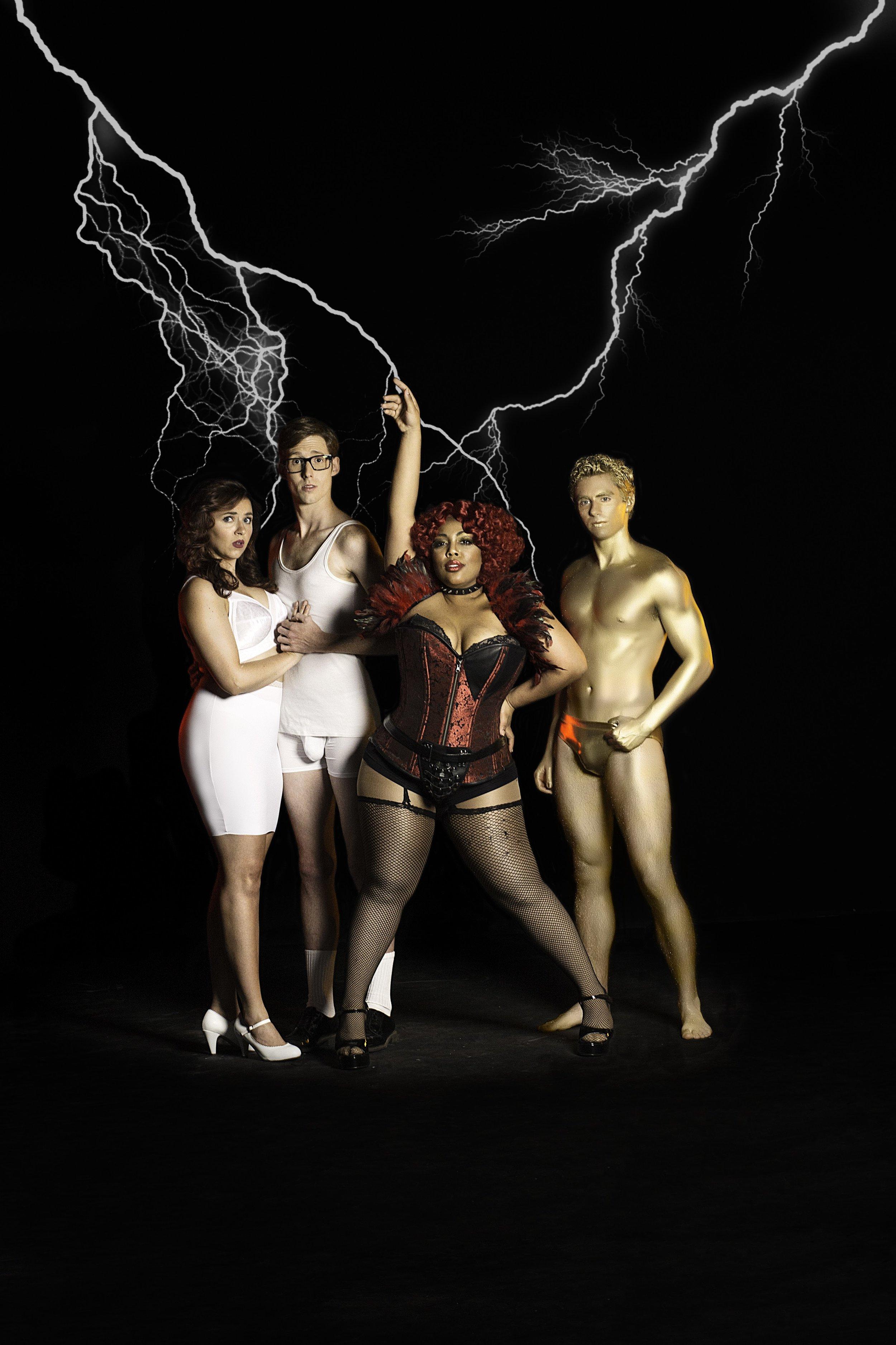 Cast of   R    ocky Horror Show  ( Tyler Ogburn Photography)