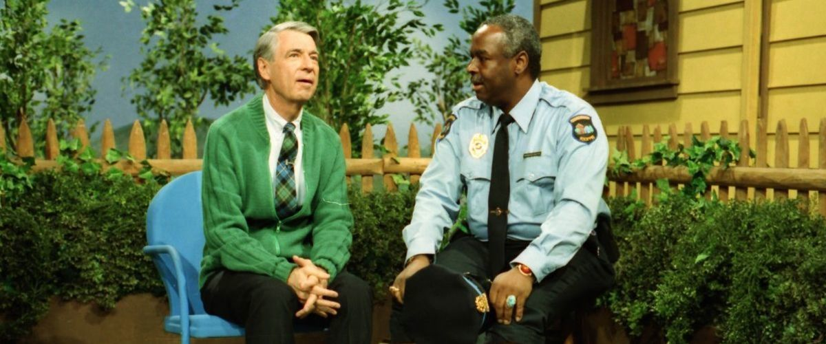 Fred Rogers and François Clemmons