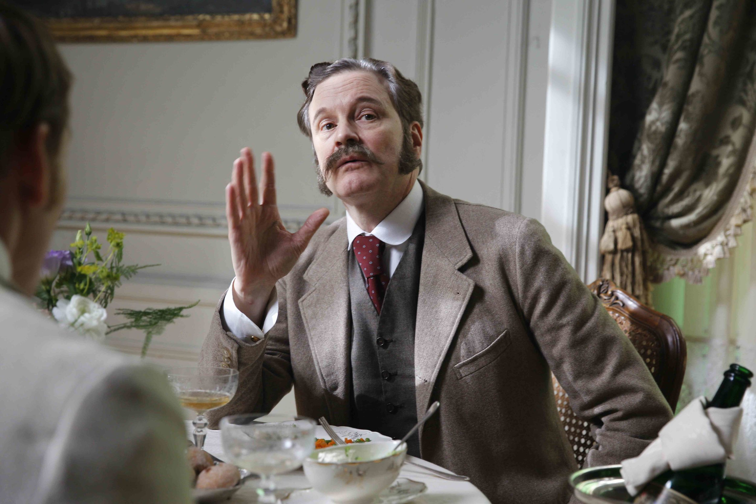 Colin Firth as Reggie Turner Photo by Wilhelm Moser, Courtesy of Sony Pictures Classics