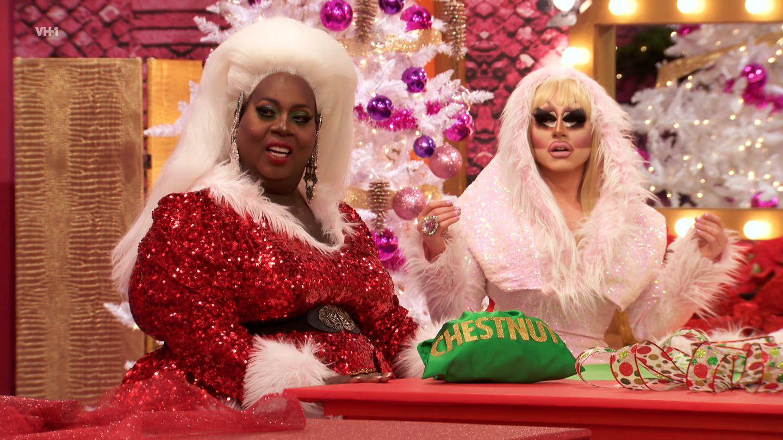 Drag Race Christmas Card Happy Christmas Gay LGBTQ Trixie Mattel Christmas Card