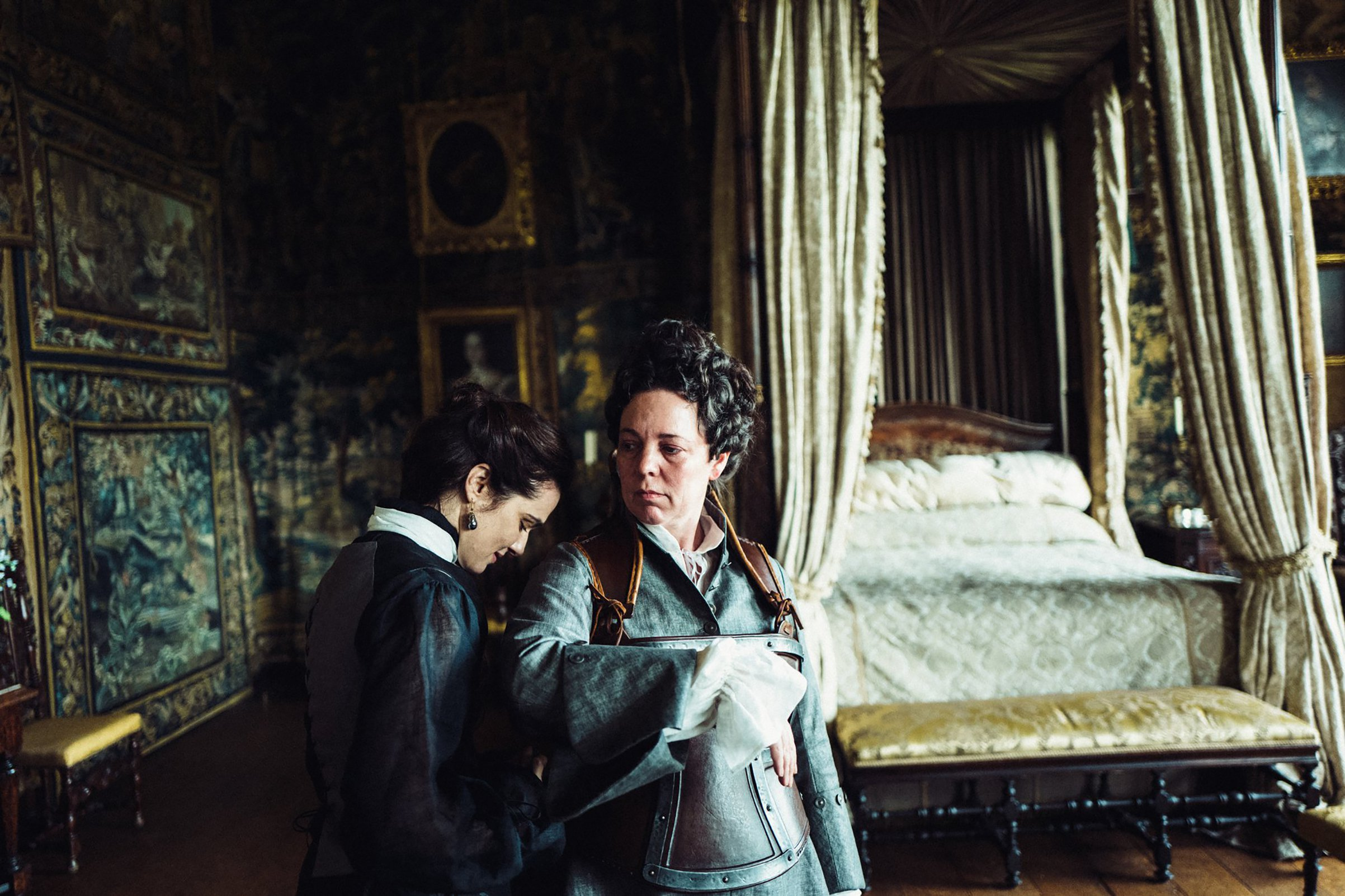 Rachel Weisz and Olivia Colman Yorgos Lanthimos / 20th Century Fox