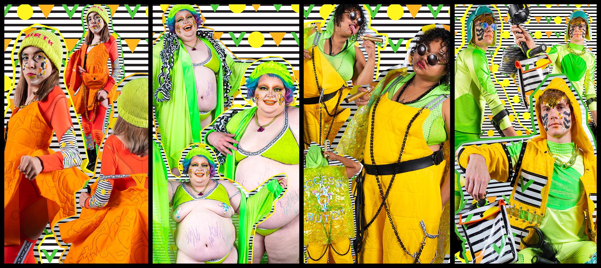 Photos:  ColectivoMultipolar  Models:  Makayla ,  C'est Kevvie ,  Juju Minxxx ,  Christopher McGuire