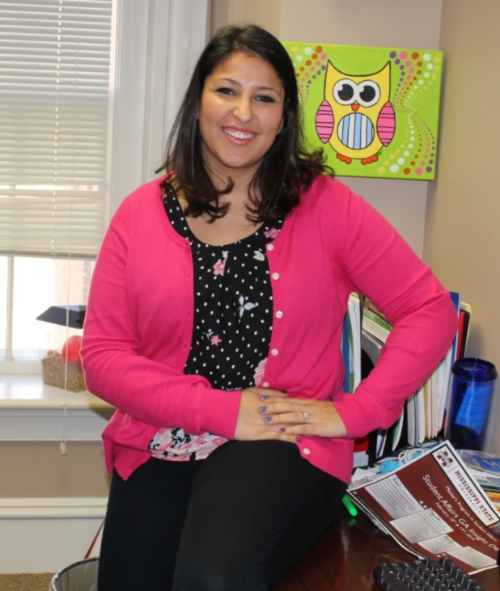 Holtzman serves as coordinator of student engagement at The W. Photo by Monica Kizer.