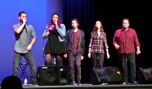 Eh440 performed in Rent Auditorium on Feb. 22. Photo by Lauren Trimm.