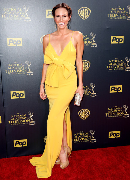 Keltie Knight Yellow Emmy Dress