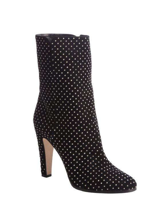 Jimmy Choo Black Studded Boot