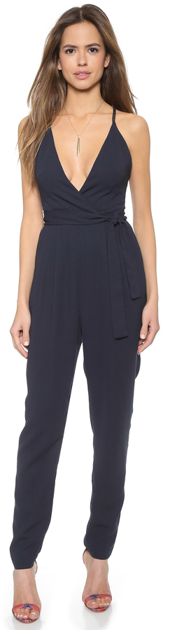 Finders Keepers Blue Jumpsuit