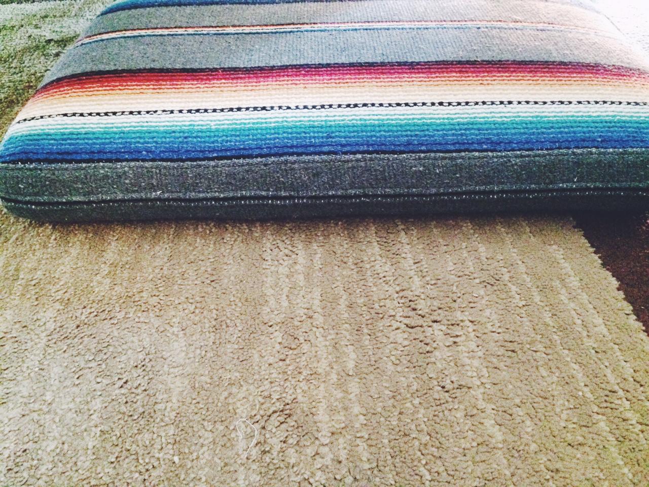 Mexican blanket DIY