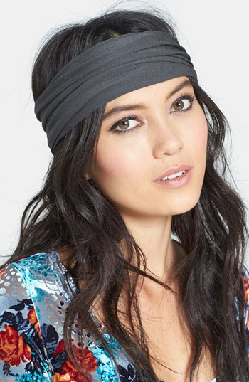 L.Erickson Turban Headband grey