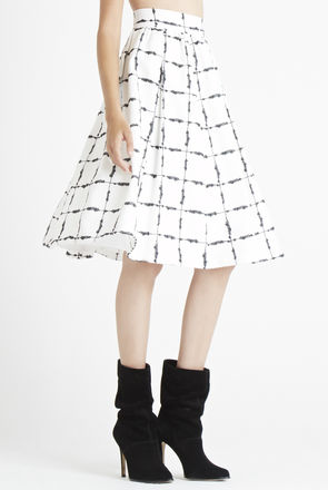 Bcbg Full Pleat Skirt