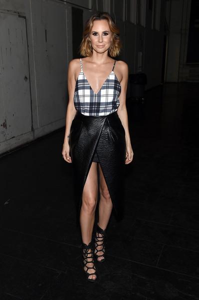 Keltie Knight Fashion Week 2015