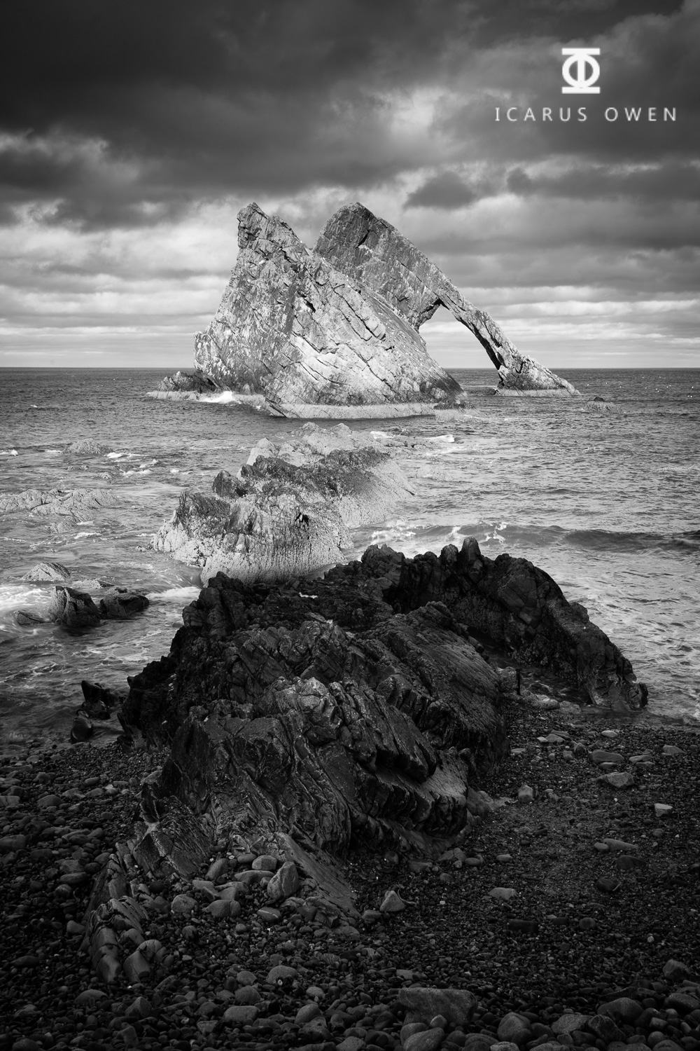 Bow Fiddle Rock - Icarus Owen - Mono.jpg