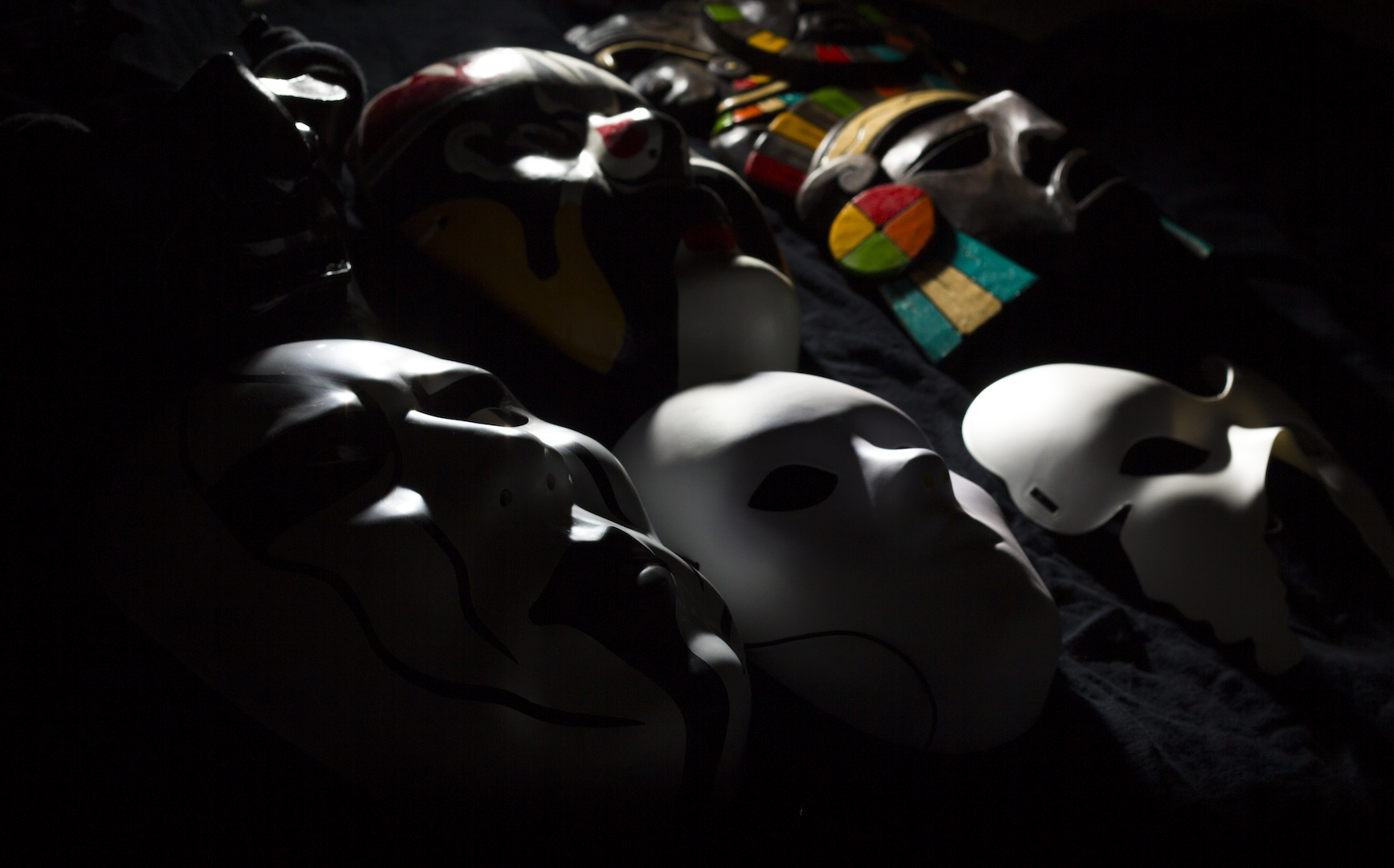 Part of my mask collection