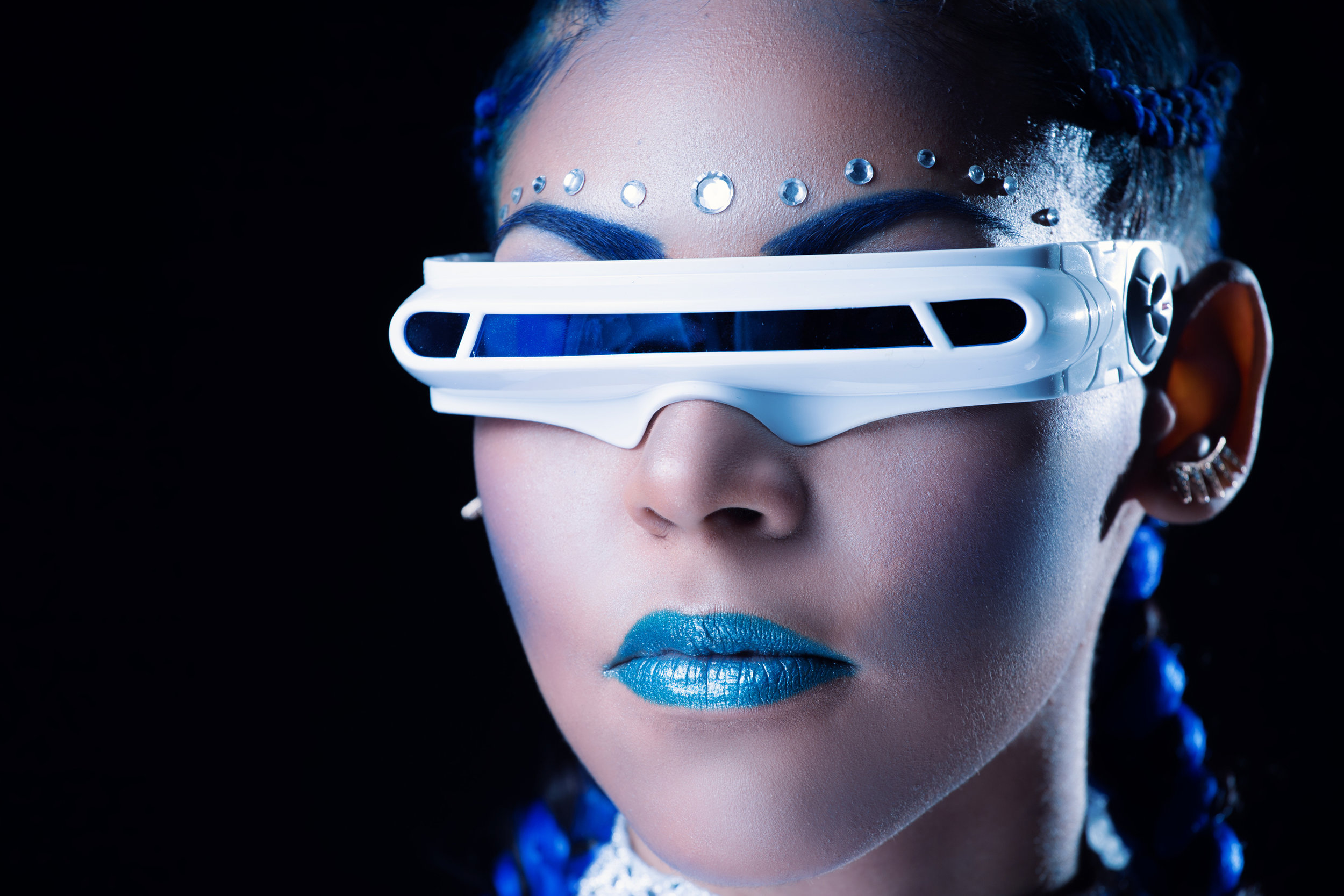 Blue Concept Inspired by Cyclops- Chamber Photography Moments by Antoine Hart