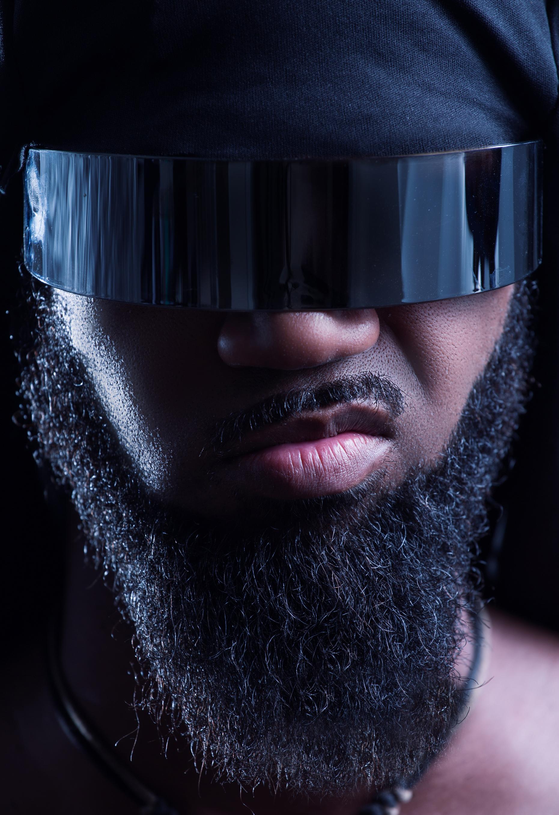 Sci Fi visor photo shoot