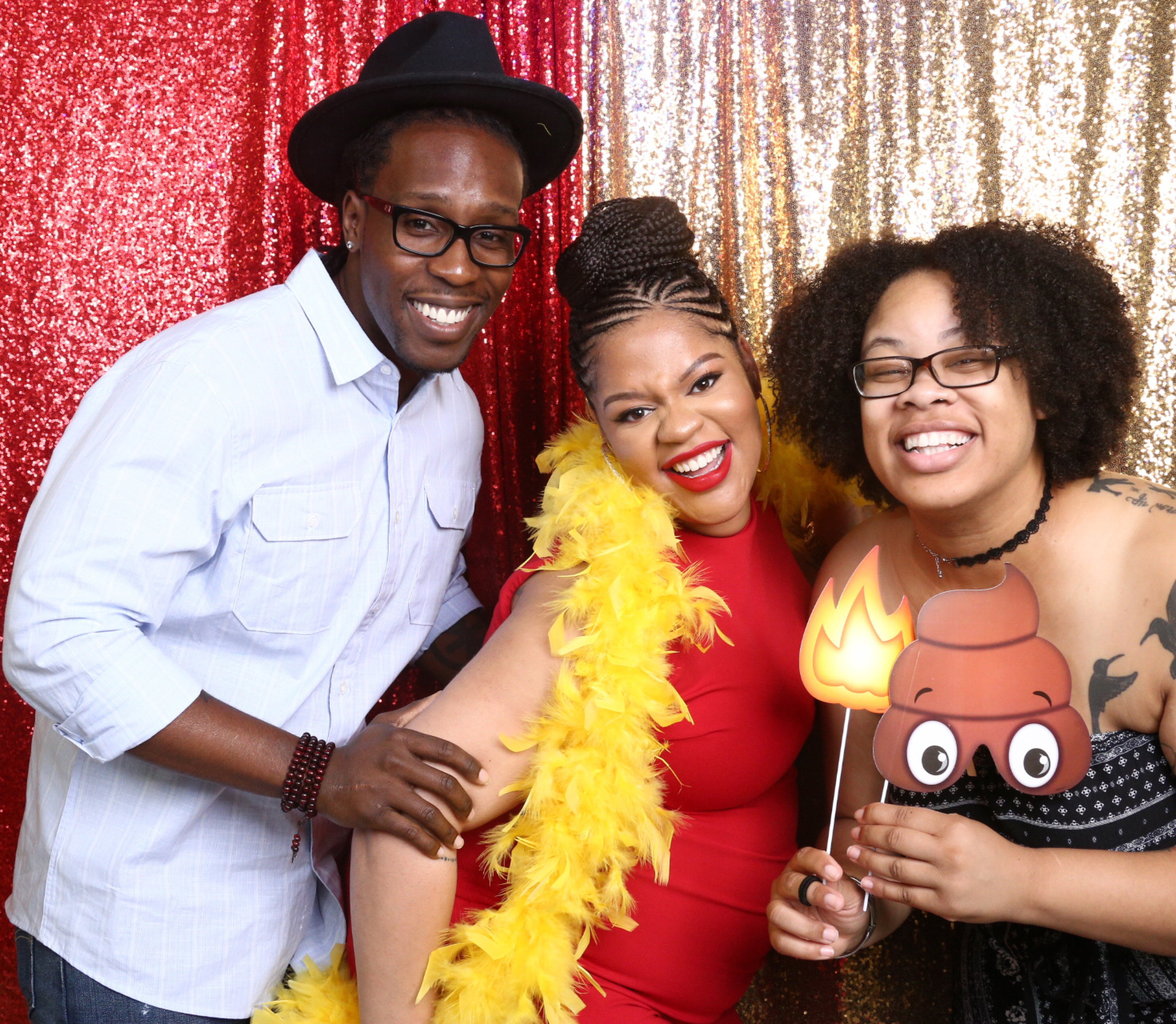 Photo Booth  At Baby Shower