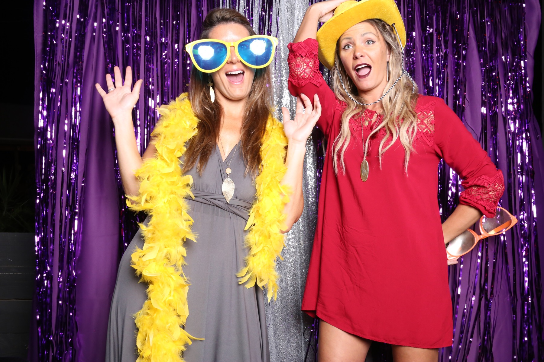 Photo Booth fun At Rebekah and Freddy's Wedding : Chamber Hart Photography Booth Chamber in De Leon Springs