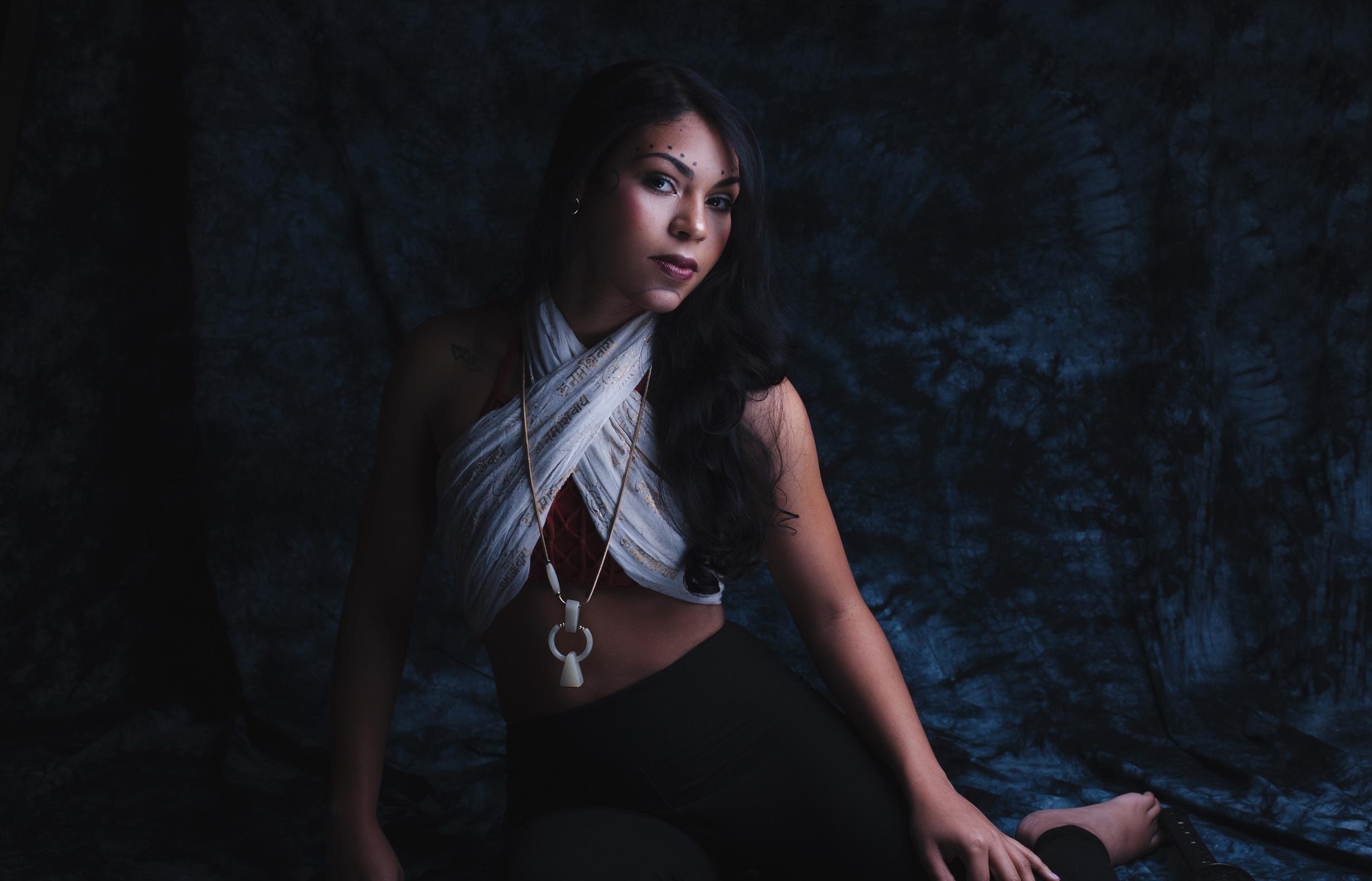 Dramatic Katana Photo Shoot: Chamber Hart Photography